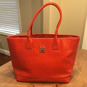 Dooney and Bourke Zip Tote